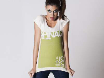 Altriluoghi Spinaci Spinach T-shirt