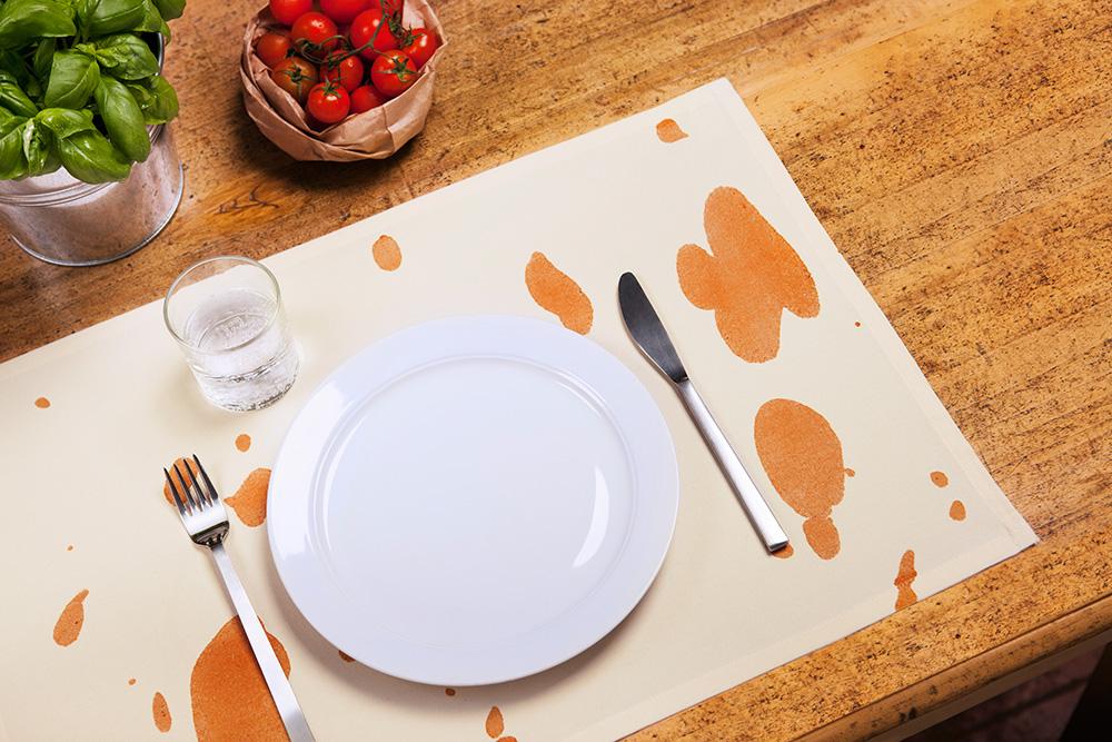altriluoghi pomodoro biologico tovaglietta set da tavola pranzo