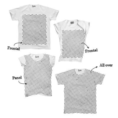 altriluoghi t-shirt cotone biologico stampa serigrafica vegetale serigrafia