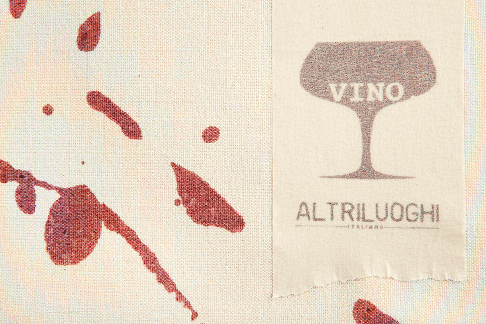 Italian Wine Placemat by Altriluoghi